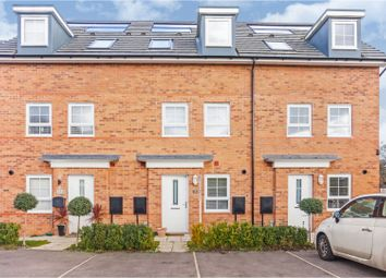 Thumbnail 3 bed town house for sale in Wisbech Close, Sandymoor, Runcorn