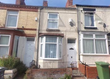 Thumbnail 1 bed terraced house for sale in Harrowby Road, Tranmere, Wirral