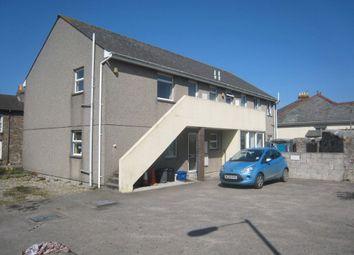 Thumbnail 2 bed flat for sale in Trevenson Court, Trevenson Street, Camborne, Cornwall