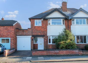 Thumbnail 3 bed semi-detached house for sale in Eastcourt Road, Knighton, Leicester