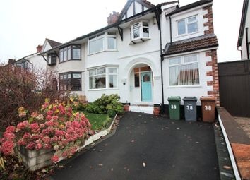 Thumbnail 5 bed semi-detached house for sale in Bickerton Avenue, Wirral, Merseyside
