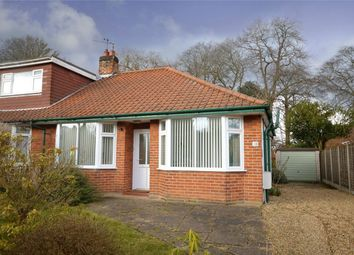 Thumbnail 2 bedroom semi-detached bungalow for sale in Belmore Close, Thorpe St Andrew, Norwich