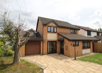 Thumbnail 4 bed detached house for sale in De Ballon Close, Ysbytty Fields, Abergavenny