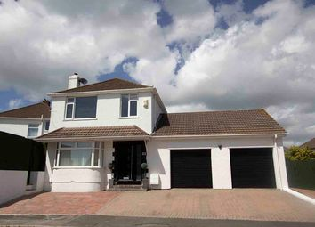 Thumbnail 4 bed detached house for sale in The Knoll, Plympton, Plymouth