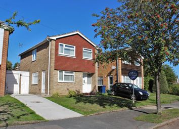 Thumbnail 3 bedroom detached house for sale in Wentworth Close, Farnham
