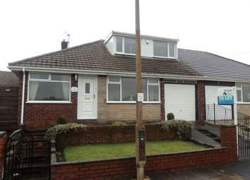 Thumbnail 2 bed semi-detached bungalow to rent in Hebburn Drive, Bury