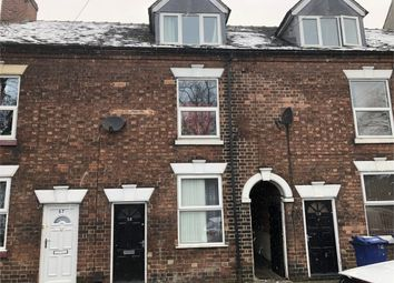 Thumbnail 3 bed terraced house for sale in Horninglow Road, Burton-On-Trent, Staffordshire