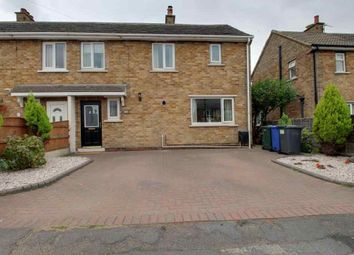 Thumbnail 3 bed semi-detached house for sale in Cresacre Avenue, Barnburgh, Doncaster
