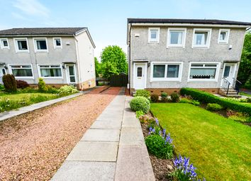 Thumbnail 2 bedroom semi-detached house for sale in Groveburn Avenue, Thornliebank, Glasgow