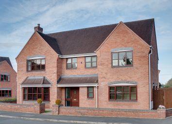Thumbnail 5 bed detached house for sale in Hanbury Croft, Hanbury, Bromsgrove