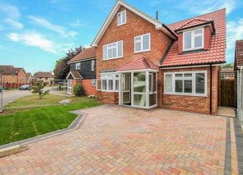 Thumbnail 5 bed detached house for sale in Washington Avenue, Laindon, Basildon
