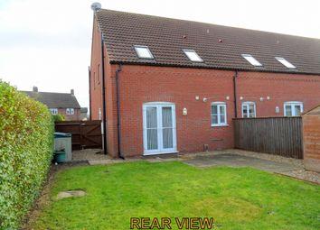 Thumbnail 1 bed end terrace house for sale in Chapel Court, Sutton Bridge, Spalding, Lincolnshire