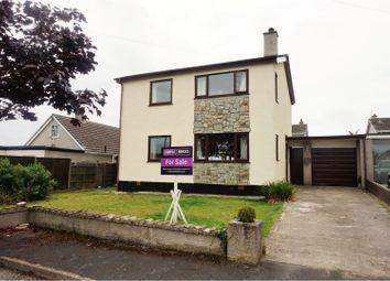 Thumbnail 3 bed detached house for sale in Bryn Estate, Llanfaethlu