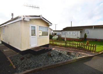 Thumbnail 1 bed mobile/park home for sale in Hill Farm Park, Pembroke Dock
