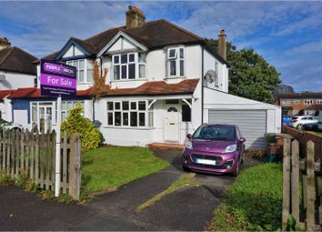 Thumbnail 3 bed semi-detached house for sale in Croydon Road, Croydon
