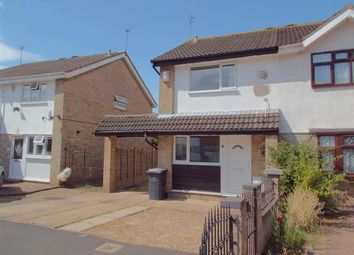 Thumbnail 2 bed semi-detached house for sale in Broxburn Close, Rushey Mead, Leicester, Leicestershire