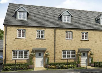 "Thumbnail 4 bed terraced house for sale in ""The Leicester "" at Whitelands Way, Bicester"