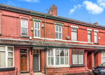 Thumbnail 3 bedroom terraced house for sale in Banff Road, Rusholme, Manchester