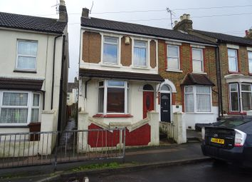 Thumbnail 2 bedroom end terrace house to rent in Windmill Road, Gillingham, Kent.