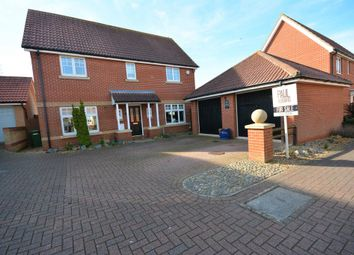 Thumbnail 4 bedroom detached house for sale in Ullswater, Carlton Colville, Lowestoft