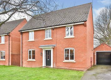 Thumbnail 3 bed detached house for sale in Marauder Road, Old Catton, Norwich