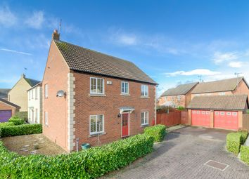 Thumbnail 4 bed detached house for sale in Wake Way, Grange Park, Northampton