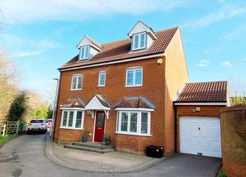 Thumbnail 4 bed detached house for sale in Foxholes Close, Deanshanger, Milton Keynes