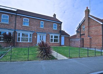 Thumbnail 3 bed semi-detached house for sale in Shinewater Park, Hull