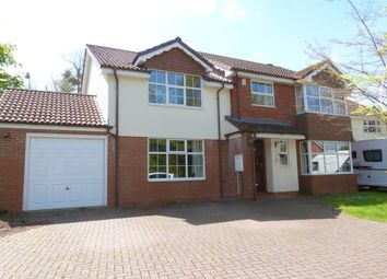 Thumbnail 5 bed detached house to rent in Temple Close, Barnwood, Gloucester
