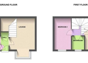 Thumbnail 2 bedroom terraced house for sale in Dorrington Close, Luton