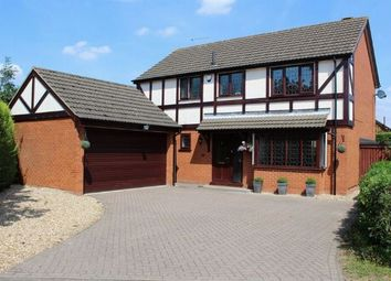 Thumbnail 4 bed detached house for sale in Triumph Gardens, Duston, Northampton