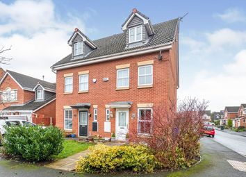 Thumbnail 3 bed semi-detached house to rent in Rushmore Drive, Widnes