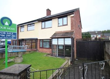 Thumbnail 3 bed semi-detached house for sale in Coleridge Avenue, Middleton, Manchester