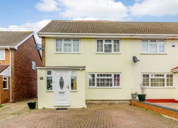 Thumbnail 4 bed semi-detached house for sale in Everest Road, Staines, Surrey