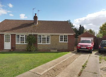 Thumbnail 2 bed semi-detached bungalow to rent in Turnor Close, Colsterworth, Grantham