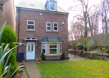 Thumbnail 4 bedroom detached house to rent in Hollyhurst Court, Riddings, Alfreton