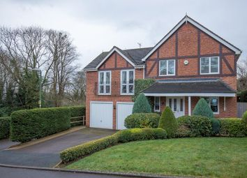 Thumbnail 4 bed detached house for sale in 12 Homestead Close, Malvern, Worcestershire