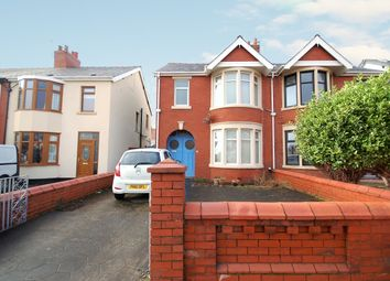 Thumbnail 3 bedroom semi-detached house for sale in Wetherby Avenue, Blackpool, Lancashire