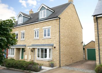 Thumbnail 4 bed end terrace house for sale in Merlin Close, Coopers Edge, Brockworth, Gloucester