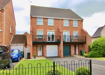Thumbnail 3 bed semi-detached house for sale in Morecroft Drive, Chase Meadow Square, Warwick