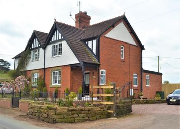 Thumbnail 3 bed semi-detached house for sale in Beeches Villas, Tilston Road, Malpas