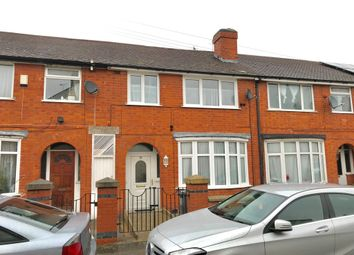 Thumbnail 4 bed terraced house for sale in Herbert Avenue, Belgrave, Leicester