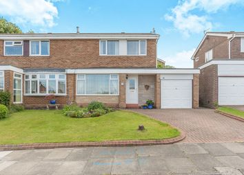 Thumbnail 3 bed semi-detached house for sale in Dunnock Drive, Sunniside, Newcastle Upon Tyne