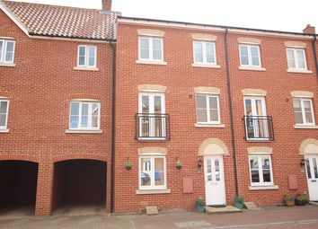 Thumbnail 4 bedroom town house for sale in Fulham Way, Ipswich, Suffolk