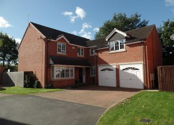 Thumbnail 5 bed detached house for sale in Grandfield Way, North Hykeham, Lincoln