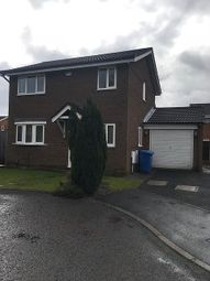 Thumbnail 3 bed detached house to rent in Holyhead Close, Callands, Warrington