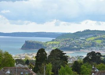 Thumbnail 4 bedroom detached bungalow for sale in Higher Holcombe Drive, Teignmouth, Devon.