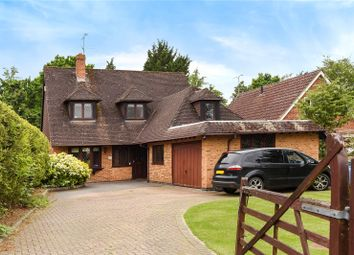 Thumbnail 4 bed detached house to rent in Nash Grove Lane, Finchampstead, Wokingham, Berkshire