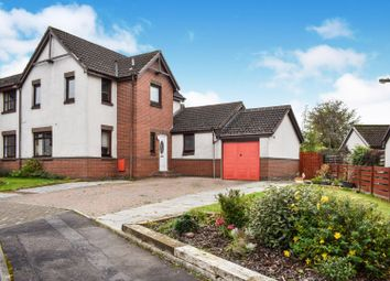 Thumbnail 4 bed semi-detached house for sale in Bankton Drive, Livingston