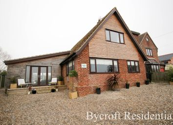Thumbnail 4 bed detached house for sale in School Road, Runham, Great Yarmouth